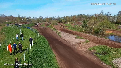Motorcross circuit Flying Boetoe